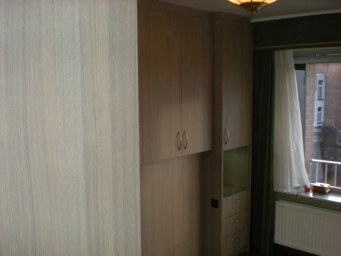 Slaapkamer Led Lampen : home slaapkamers slaapkamer in laminaat nis ...