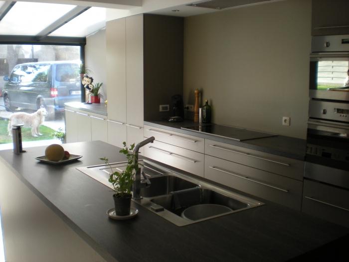 Zitje keuken ontwerp eiland gehoor geven aan uw huis - Deco keuken ontwerp ...