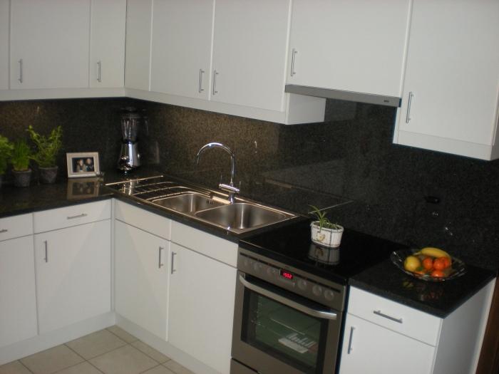 Keuken met granieten werkblad - Keuken met granieten werkblad ...