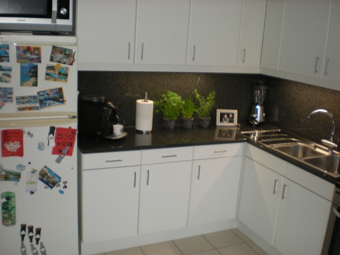 Keueken met granieten werkblad - Keuken met granieten werkblad ...