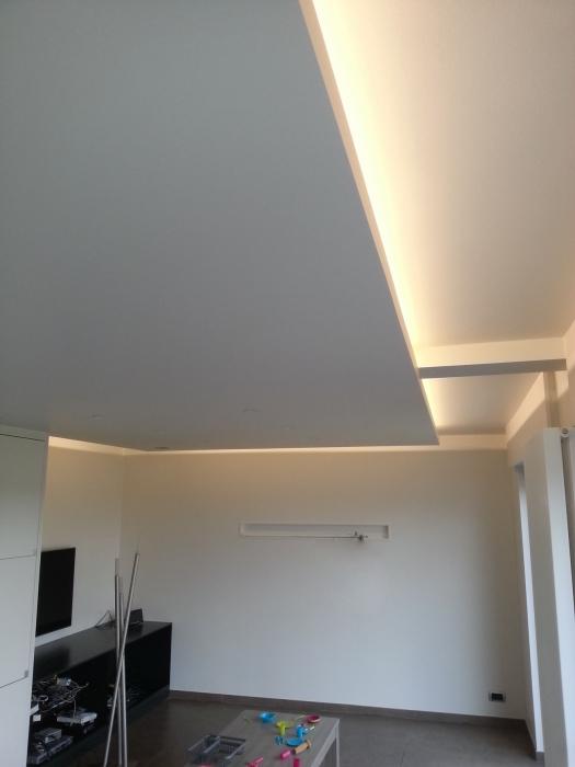 nissen in verlaagd plafond voor indirecte verlichting verlaagd plafond ...